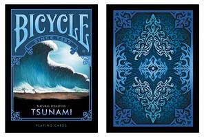 Карты игральные | Bicycle Natural Disaster «Tsunami», фото 3
