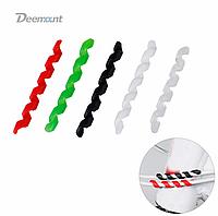 Защита кабеля / протектор / защита рубашек силикон от перетирания кабелей и ЛКП «спиральки» ТМ «Deemount»