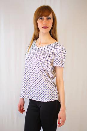 Стильная модная повседневная красивая блуза с позолоченной молнией сзади, фото 2