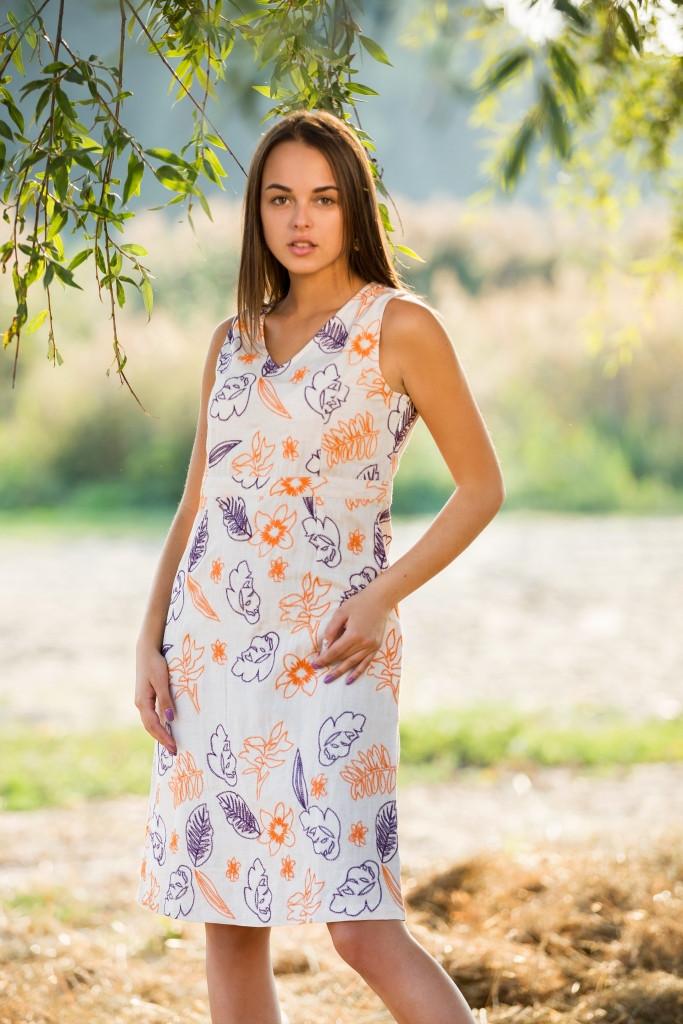 Красивое летнее платье Индия 4540