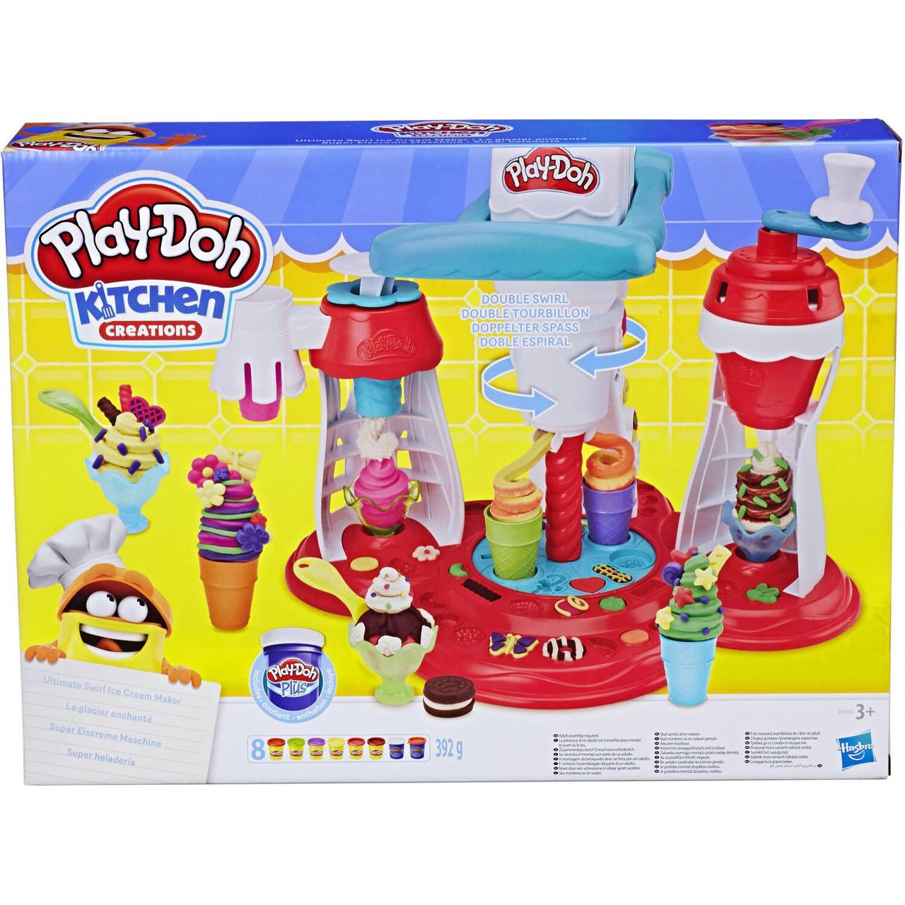 Пластелин Play Doh Hasbro Мир мороженного
