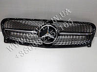 Решетка радиатора Mercedes GLA X156 стиль Diamond (Black)