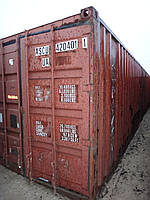 Морской контейнер 40 футов в рейсовом состоянии