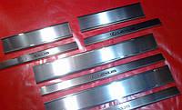 Хром накладки на пороги для Lexus LX 570, Лексус ЛХ 570
