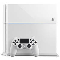 Игровая Приставка Sony PlayStation 4 (PS4) Glacier White, фото 1