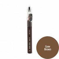 Восковой карандаш для бровей ( серо-коричневый)CC Brow Tinted Wax Fixator