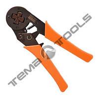 Кримпер (цанговый) HSC8-16-4 (6-16 мм²) для обжима наконечников ручной опрессовочный инструмент