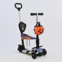 Самокат 5в1 Best Scooter 63010 PU колеса Гарантия качества Быстрая доставка