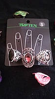 Кольца с камнями Top Ten