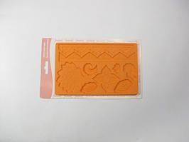 Силиконовый коврик текстурный молд 19.5см*12.5см 18049