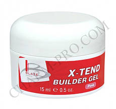 Гель Blaze X-Tend Builder Gel Конструирующий Pink (15 мл)
