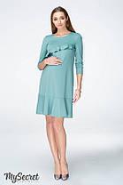 Стильное платье для беременных и кормящих мам размер 42 44 46 48 50, фото 2