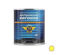 Краска Вагонка ПФ-133 желтый (0,9л.)