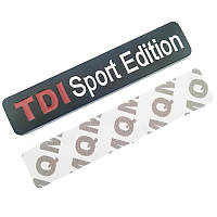 3D эмблема -  TDI Sport Edition - черная, фото 1