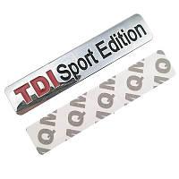 3D эмблема -  TDI Sport Edition - глянец хром, фото 1