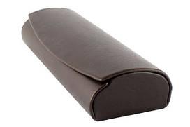 Футляр на магните, гладкая искусственная кожа (150*48*27) коричневый