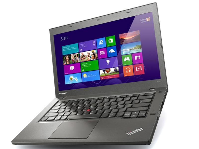 Ноутбук Lenovo ThinkPad T440-Intel Core i5-4300U-1,90GHz-8Gb-DDR3-180Gb-SSD-W14-FHD-Web+батерея - Б/