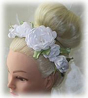 """Венок """"Весенние белые цветы"""""""