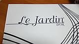 Покривало жакардове Le_Jardin Pudra -3, фото 2