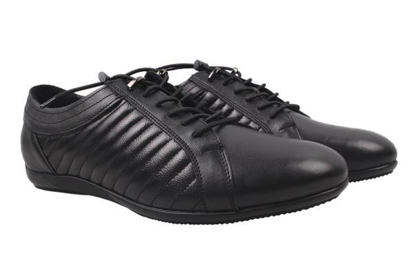 Туфли комфорт Prime натуральная кожа, цвет черный