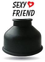 НАСАДКА ДЛЯ ПОМПЫ цвет чёрный, размер L 50 мм