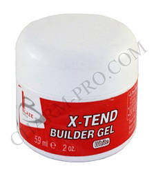 Гель Blaze X-Tend Builder Gel Конструирующий White (59 мл)