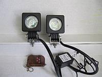 Стробоскопы  LED 11-10 W с пультом Д/У. , фото 1