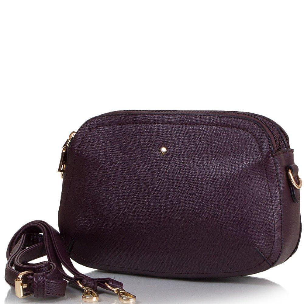 Сумка-клатч ANNA&LI Женская сумка-клатч из качественного кожезаменителя ANNA&LI (АННА И ЛИ) TU14344-brown