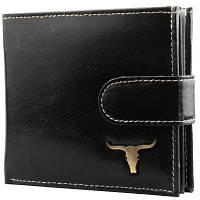 Кошелек или Портмоне Buffalo Wild Кошелек мужской кожаный BUFFALO WILD (БУФФАЛО ВАЙЛД) DNKRM-01L-BAW2-black, фото 1