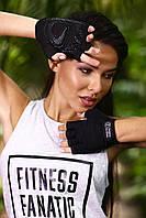 Женские атлетические перчатки для фитнеса и зала Designed For Fitness Black