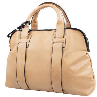 Сумка повседневная (шоппер) Amelie Galanti Женская сумка из качественного кожезаменителя AMELIE GALANTI (АМЕЛИ ГАЛАНТИ) A7008-beige