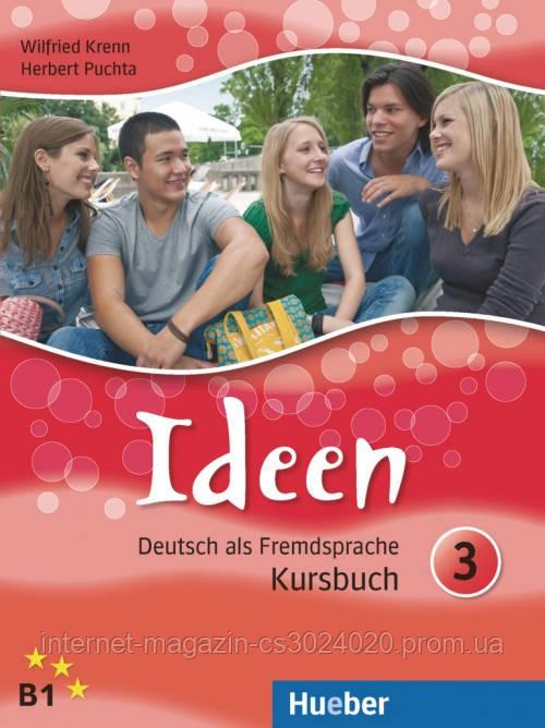 Ideen 3, Kursbuch ISBN: 9783190018253