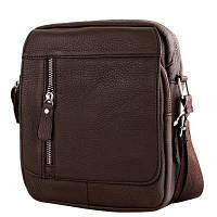 Борсетка ETERNO Кожаная мужская борсетка-сумка ETERNO (ЭТЭРНО) DET4016, фото 1