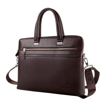 Портфель Bogebolo Кожаная мужская сумка BOGEBOLO DET1062-1