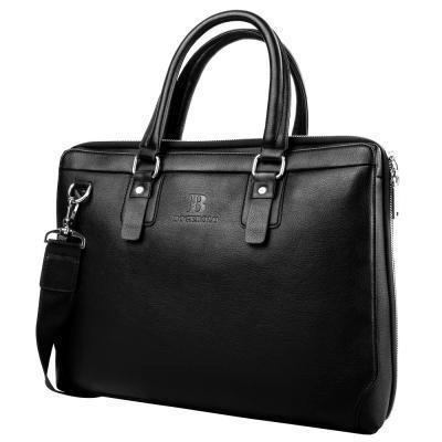 Портфель Bogebolo Кожаная мужская сумка с отделением для ноутбука BOGEBOLO DET7113-1