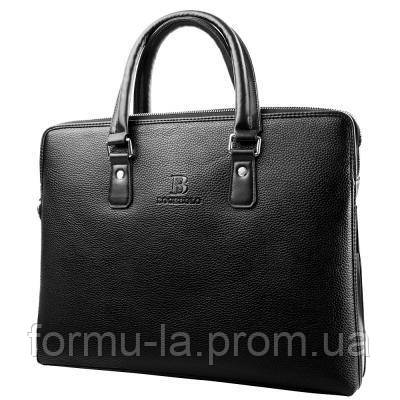 Портфель Bogebolo Кожаная мужская сумка с отделением для ноутбука BOGEBOLO DET720-1