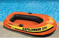 Лодка одноместная Intex 38355 160*94*29 см  KK