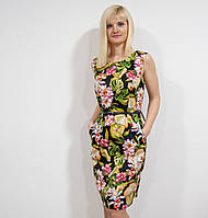 Платье с цветочным принтом, фото 1