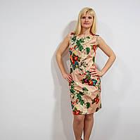 Элегантное платье с цветочным принтом, фото 1