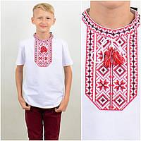 Вышитая футболка на мальчика