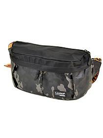 Мужская сумка на пояс Lanpad 310 black