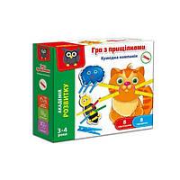 Игра с прищепками «Смешная компания», Vladi Toys, VT5303-14
