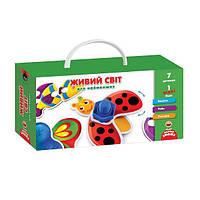 """Игра с винтиками """"Живой мир"""" для самых маленьких, Vladi Toys, VT2905-10"""
