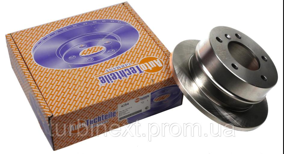 Диск тормозной (задний) MB Sprinter 208-216 96- (258x12) AUTOTECHTEILE 100 4354