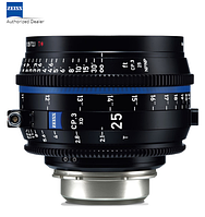 Объектив ZEISS CP.3 XD 25mm T2.1 Compact Prime Lens (PL Mount, Feet) (2181-383)
