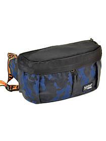 Мужская сумка на пояс Lanpad 310 blue, Lanpad 310 green
