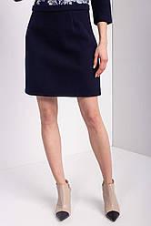 Синяя юбка CHLOE длиной мини Бесплатная доставка Justin