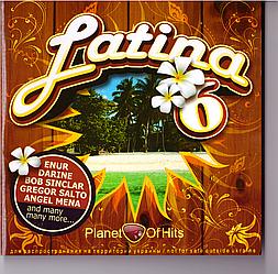 CD-диск Збірник Latina 6. Планета хітів