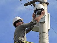 Установка и настройка систем видеонаблюдения