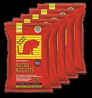 Корм для кошек Nutra Nuggets Hairball Control 5х1кг